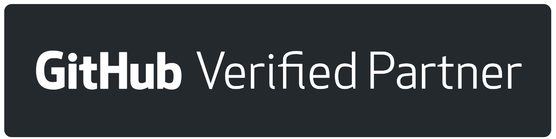 Github verified partner